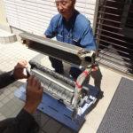 究極のクリーニング、業務用4馬力、壁掛け型の取外し屋外での洗浄