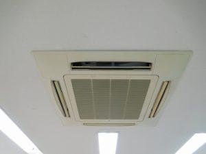 天井埋込カセット形4方向エアコン