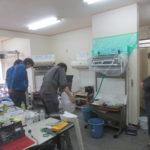 ロボットエアコンの実習、セミナー