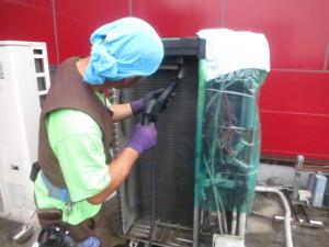 エアコン洗浄作業-3