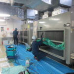 77 大型エアコン、三洋電機SGP-DH1400M1を15台洗浄