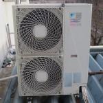 松戸市、工場の「エアコン室外機洗浄」