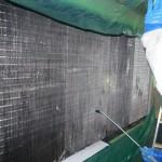 空冷式チラーの「熱交換器アルミフィン洗浄」