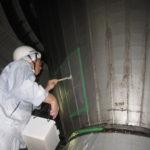 ビール工場/防カビ剤の実用化試験(カビ汚染対応)