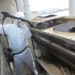 食品工場の「空調の洗浄」 設備容量98馬力