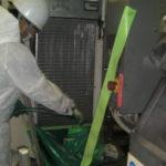ダイキン オイルコン「AKZJ568-C-D28」 アルミフィンの洗浄
