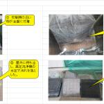 酸素系洗浄剤「エアクリーンD剤」の洗浄力試験
