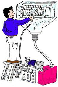 イラスト:エアコン丸洗い