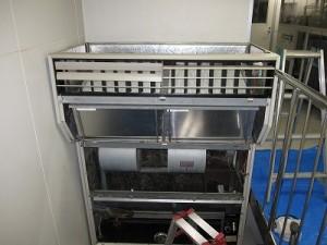 床置形工場用エアコン
