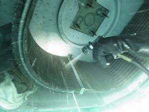 熱交換器フィン洗浄
