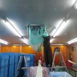 給食センター施設の「エアコン洗浄」