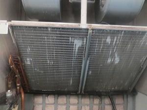 洗浄後 熱交換器フィン
