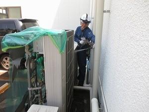 室外機洗浄-2